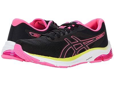 ASICS GEL-Pulse(r) 12 (Black/Hot Pink) Women