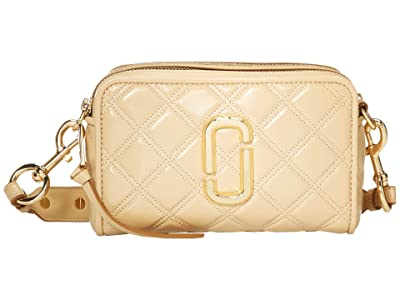 Marc Jacobs The Softshot 21 Crossbody (Beige) Handbags