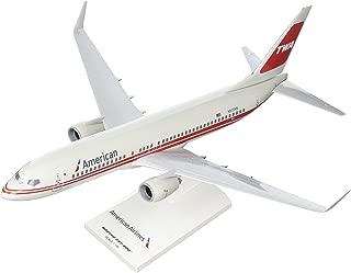 Daron SkyMarks SKR897 American Airlines Boeing 737-800 1:130 Scale REG#N915NN TWA Retro Livery