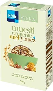 Kölln - Mueslis de avena con miel y frutos secos, 500 gramos ...