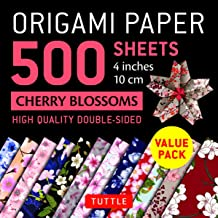 Origami Paper Cherry Blossoms