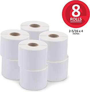 enKo (8 Rolls, 2400 Labels) Address, Shipping & Barcode Labels 30256 (2-5/16 x 4