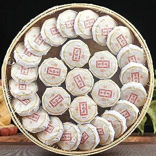 Wwlllq yunnan pu'er thee kleine thee cake plaat bamboe plaat thee thee en een kleine theekoek