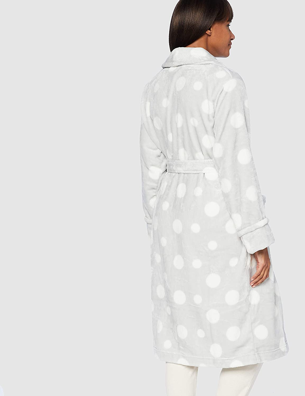 Marca IRIS /& LILLY Albornoz de Forro Polar para Mujer