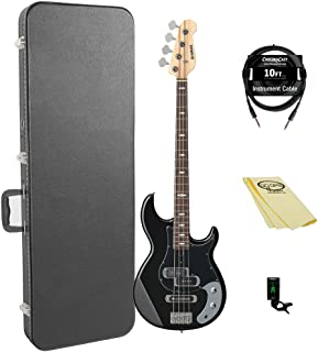 $433 » Yamaha BB234 BB-Series 4-String Bass Guitar with Hard Case and Accessories, Black