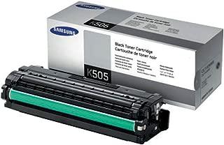 Samsung CLT-K505L Black Toner Cartridge (6000 Yield) Toner