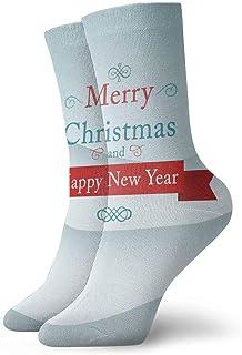 Luxury Calcetines de Deporte Merry Christmas Snow Tree Adult Short Socks Cotton Fun Socks for Mens Womens Yoga Hiking Cycling Running Soccer Sports