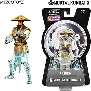 Mezco Toyz Mortal Kombat X: Raiden PREVIEWS Exclusive (Displacer Version) 15cm Action Figure