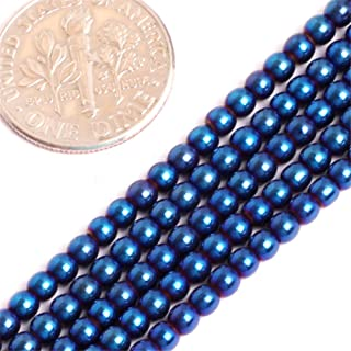 Best blue hematite beads Reviews