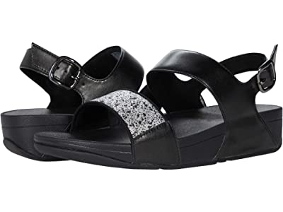 FitFlop Lulu Glitter Splash Sandals