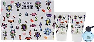 Moschino I0089306 Moschino Cheap & Chic So Real by Moschino for Women 3 Pc Gift Set 4.9ml Eau de Toilette Splash 0.8Oz Sho...