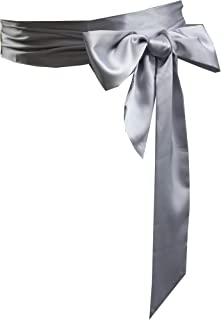 Wedding satin sash belt for special occasion dress bridal sash
