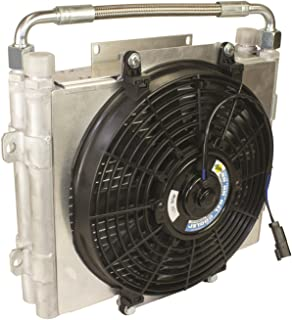 BD Diesel 1300601-DS Xtrude Double Stacked Auxiliary Transmission Cooler Cooler Assembly Only Xtrude Double Stacked Auxiliary Transmission Cooler