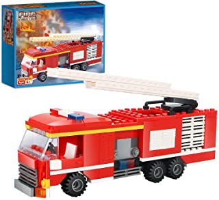 Boys City Police Truck Police and Fire Engine Set...