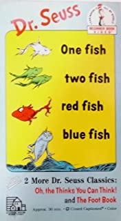 """One Fish Two Fish Red Fish Blue Fish """"Dr Seuss"""