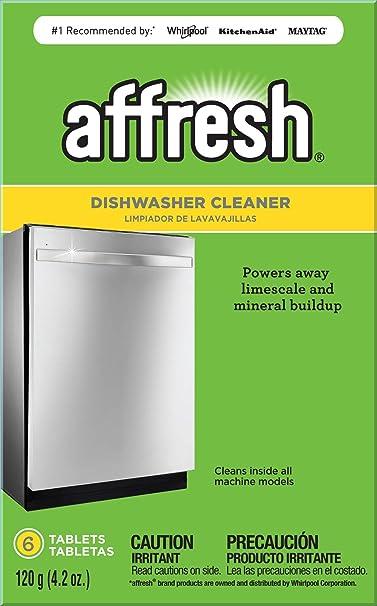Before results of inside dishwasher after using Affresh cleaner