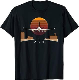 Pilot Airplane Aviation Airport T-Shirt Gift For Pilot T-Shirt