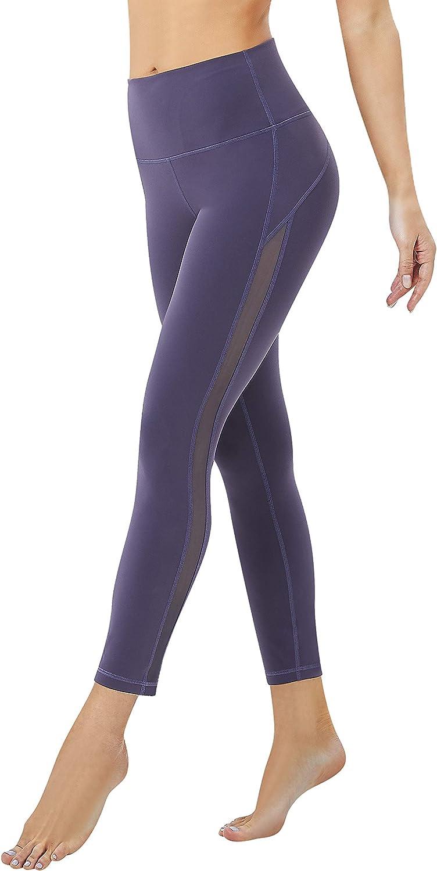 KDD Yoga Leggings for Women,Leggings with Inner Pocket Workout Leggings Workout Pants for Women