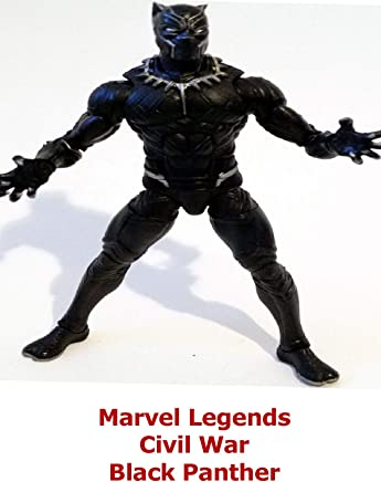 Clip: Marvel Legends Civil War Black Panther