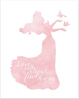 Summit Designs Aurora Disney Princess Inspirational Quote - Photo Print (8x10) Poster - Sleeping Beauty
