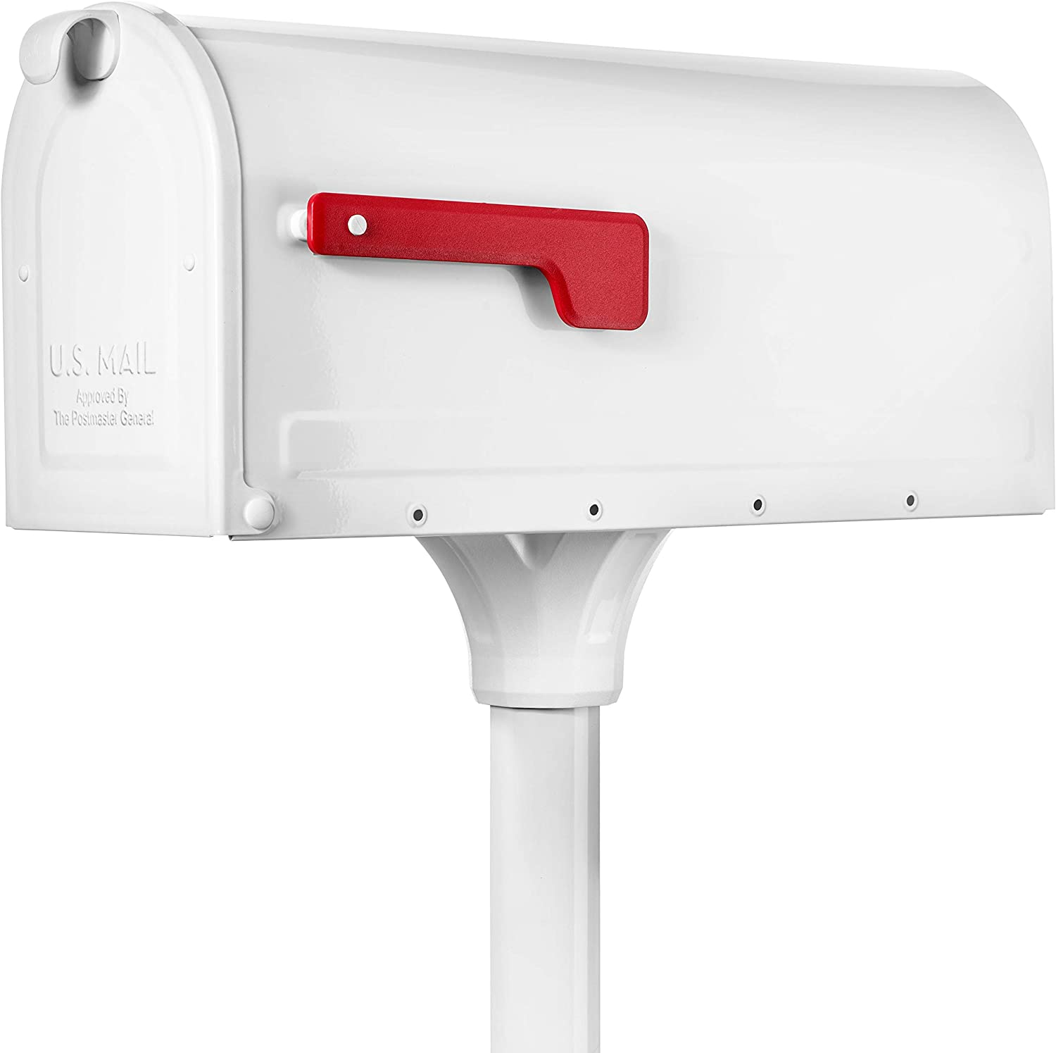 Ranking TOP15 Architectural 2021 Mailboxes 7680W-10 MB1 Kit Mailbox White