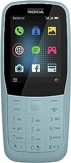 Nokia 220 Feature Phone, 4G, Dual SIM, 16 MB RAM - Blue