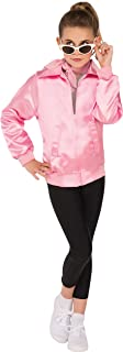 Rubie's Costume Girls Grease Jacket Costume, Large, Pink