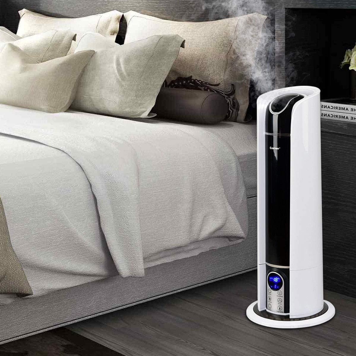 EZ FunShell Costway Humidifier Silve White Popular product Black Soldering