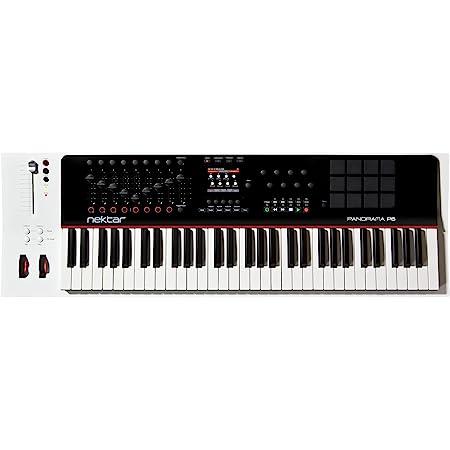 Teclado Nektar Panorama P6 MIDI - Negro/Blanco