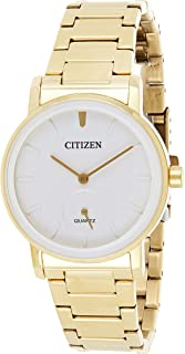 CITIZEN Womens Quartz Watch, Analog Display and Stainless Steel Strap - EQ9062-58A