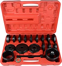 Jecr Wheel Bearing Removal Tool Kit - 23-Piece FWD Front Wheel Drive Bearing Adapters Puller Press Replacement Installer Removal Tool Kit