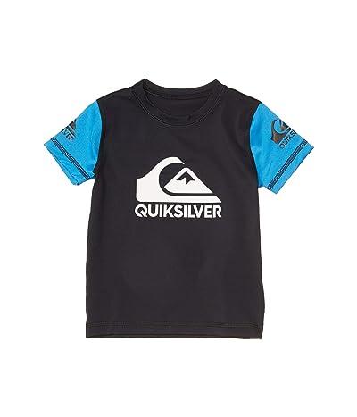Quiksilver Kids Heats On Short Sleeve (Toddler/Little Kids) (Black) Boy