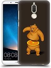 Official Tobe Fonseca Orange Bears Hard Back Case Compatible for Huawei Mate 10 Lite