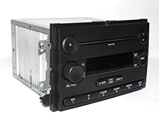 2007 Ford Fusion Car Radio - AM FM mp3 CD Player OEM Part Number 7E5T-18C869-BB (Renewed)