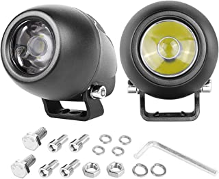 SWATOW INDUSTRIES Spot LED Driving Lights 2 Inch 2PCS 30W Osram Round LED Pod Lights Mini Light Bars Work Lights Small Fog Lights for Motorcycle Dirt Bike Off Road ATV UTV Truck Waterproof