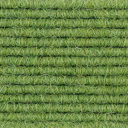 Teppichboden Auslegware | Tretford Interland | 200 cm Breite | grün 580 | Meterware, verschiedene Größen | Größe: 1,25 x 2m