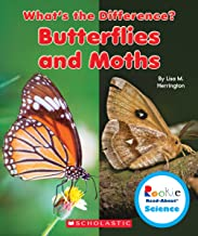 Butterflies and Moths (Rookie Read-About Science: What's the Difference?)