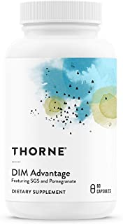 Thorne Research - DIM Advantage - Featuring DIM and Pomegranate Extract - 60 Capsules