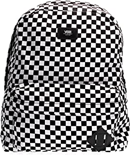 Vans SS20 Mochila Antigua SKOOL III OS Black White Check