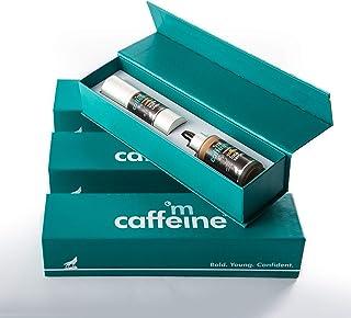 mCaffeine Coffee Prep Gift Kit | Sun Protection, Relieves Dark Circles | Face Serum, Under Eye Cream | All Skin | Paraben...