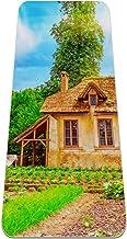 Yoga Mat - huis boerderij - Extra dikke antislip oefening & fitness mat voor alle soorten yoga, pilates & vloertrainingen