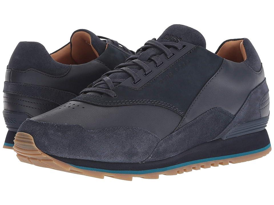 BOSS Hugo Boss Zephir Sporty Sneaker (Dark Blue) Men