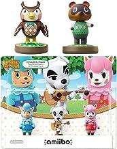 $25 » Animal Crossing Series 3-Pack Amiibo (Animal Crossing Series) - Tom Nook - Blathers Amiibo Bundle for Nintendo Switch - 3DS - Wii U (Bulk Packaging) (Renewed)