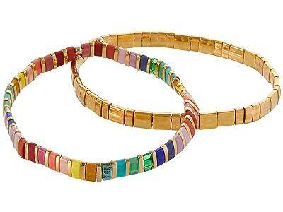 SHASHI Tilu Set of 2 (Jewel) Bracelet