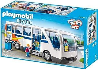 PLAYMOBIL City Life Autobús Escolar, A partir de 4 Años (