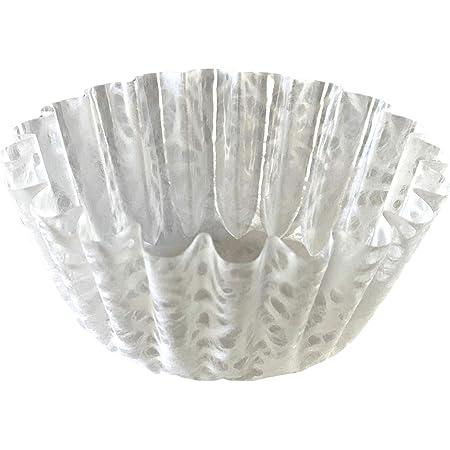 高級おかずカップ 【和紙の器】 オモテワシケース 雪白 麻の葉 Lサイズ 24枚