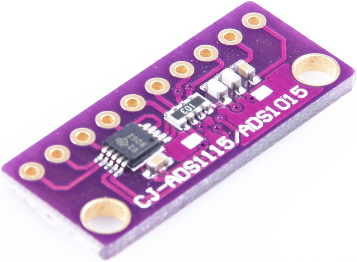 KNACRO ADS1015 ADS1115 16 bit 4 Channel Precision Analog-to-Digital Converter ADC Development Board