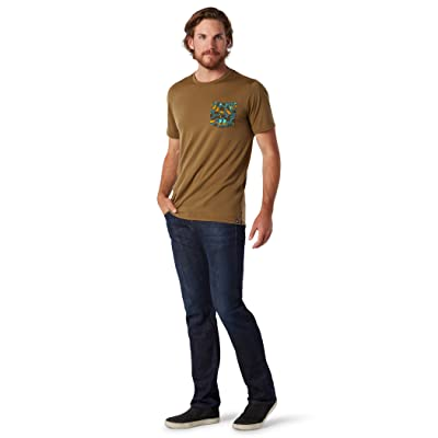 Smartwool Merino 150 Pocket Tee (Military Olive) Men