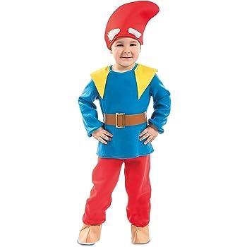 EUROCARNAVALES Disfraz de Enanito de Bosque para niño: Amazon.es ...