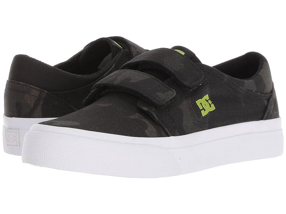 DC Kids Trase V TX SE (Little Kid/Big Kid) (Camo) Boys Shoes